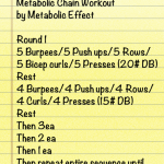 Weekend Workout by Metabolic Effect