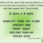 Fitness Friday 8×8 Workout
