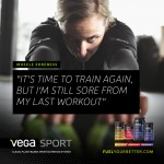 Post Workout Recovery Fueled by Vega Sport