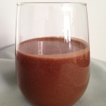 Mocha Breakfast Smoothie using Sunwarrior Vegan Protein Powder